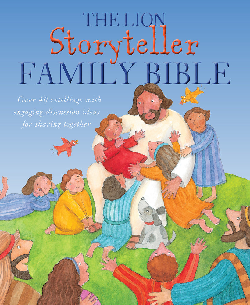 The Lion Storyteller Family Bible