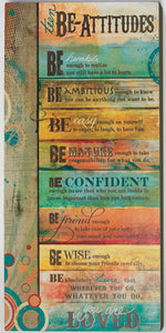 Teen Be Attitudes Plaque | Childrens & Youth | The Shrine Shop