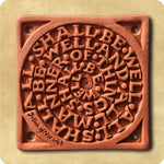 Terracotta Wall Tile – All Shall Be Well