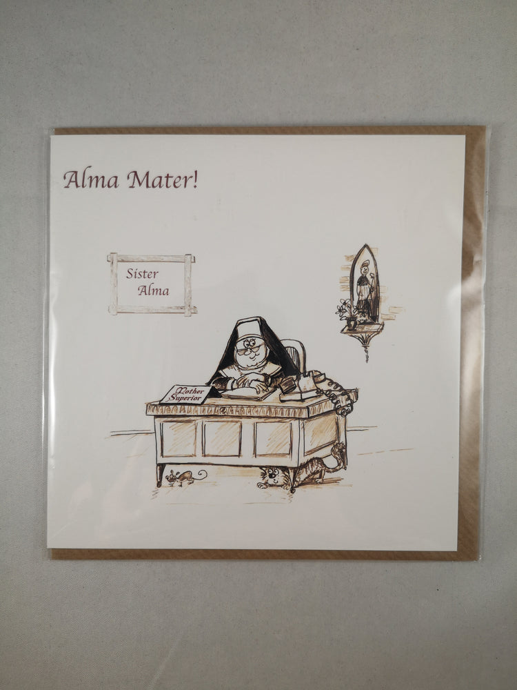 Holy Orders Card – Alma Mater