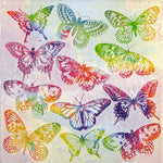 Small Napkins – Aquarell Butterflies
