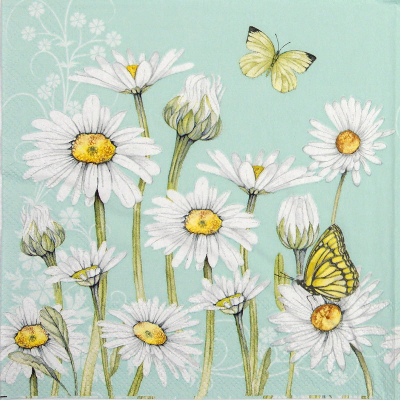 Large Napkins – Daisy