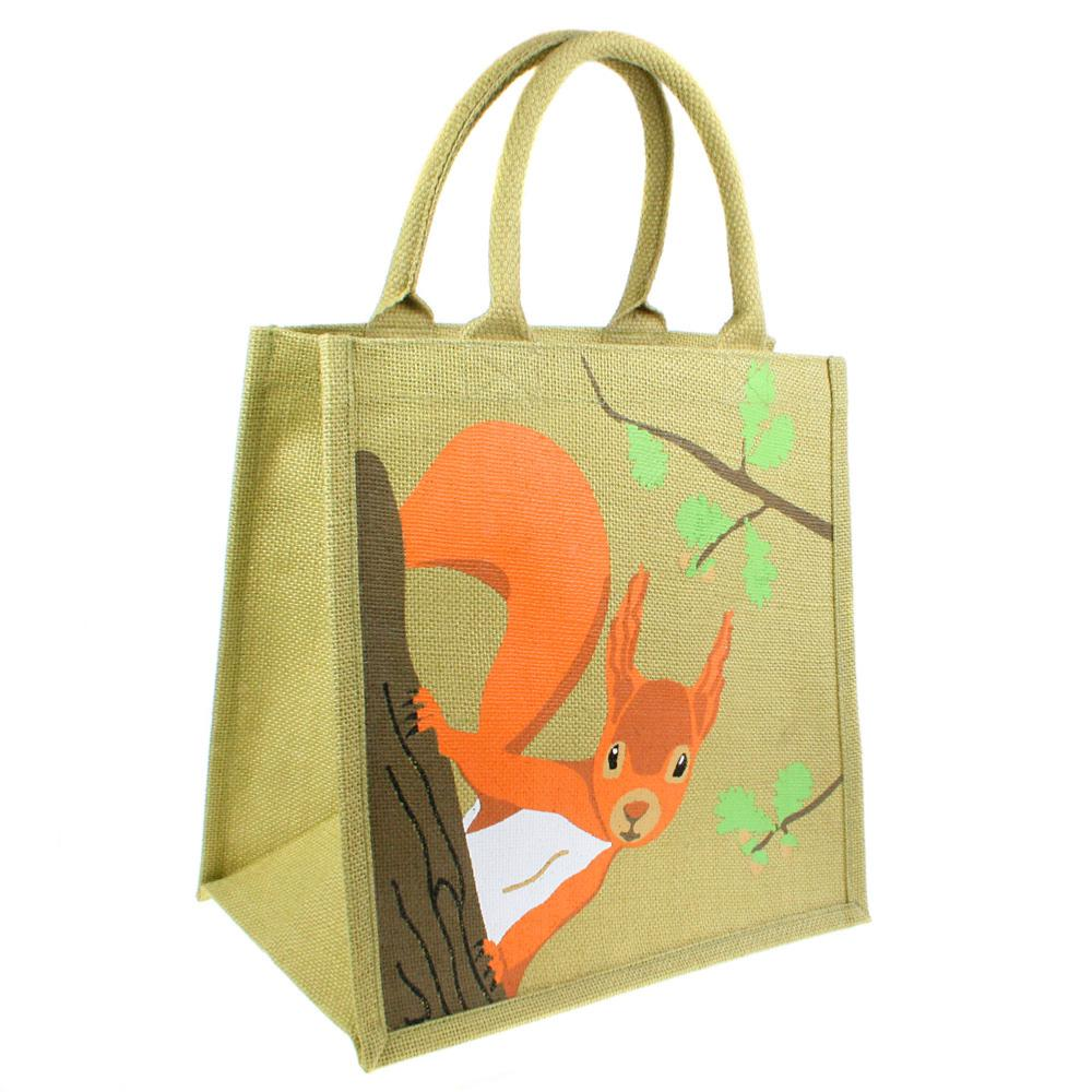 Squirrel Jute Bag |  | The Shrine Shop