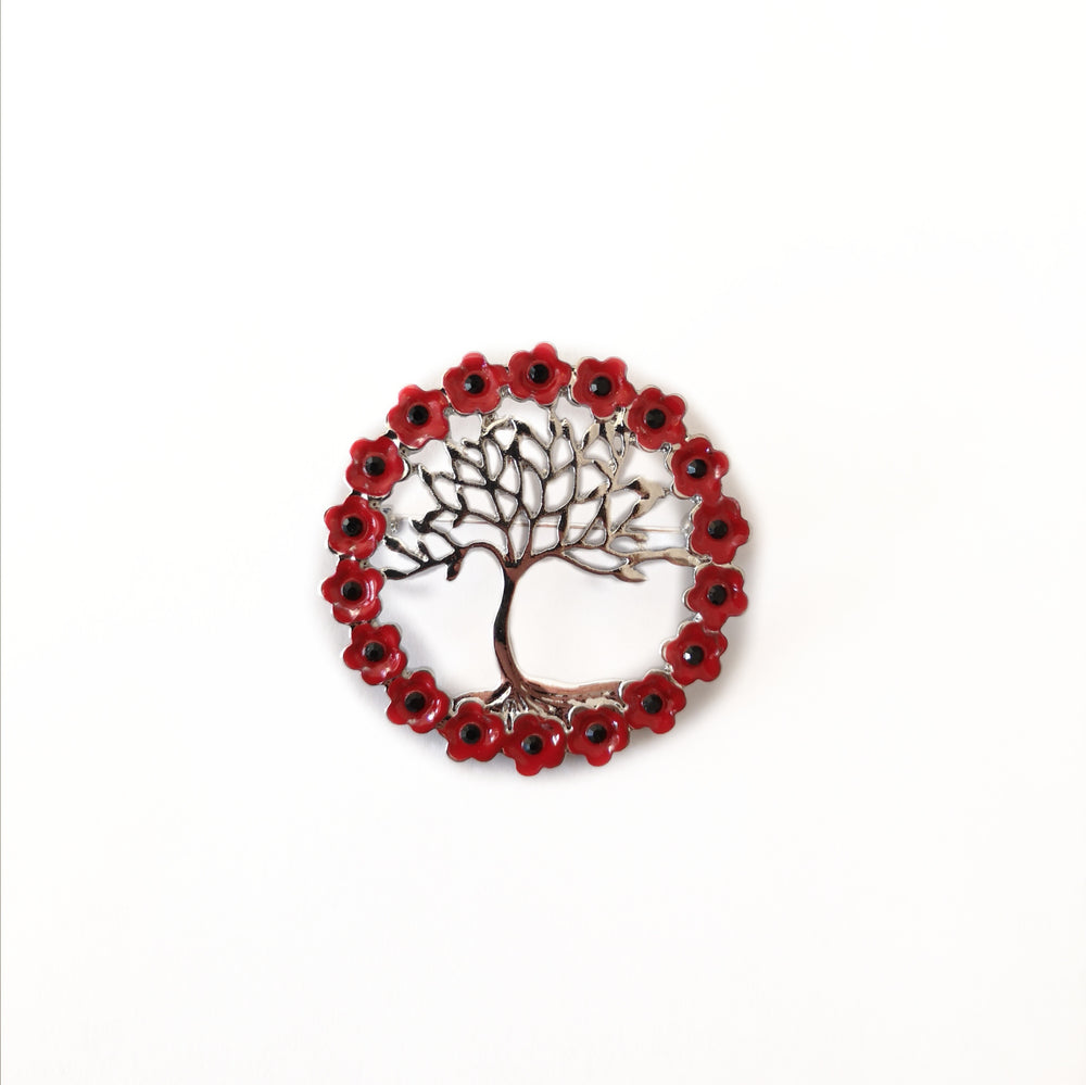 Tree Of Life Wreath Brooch | Jewellery & Medals | The Shrine Shop