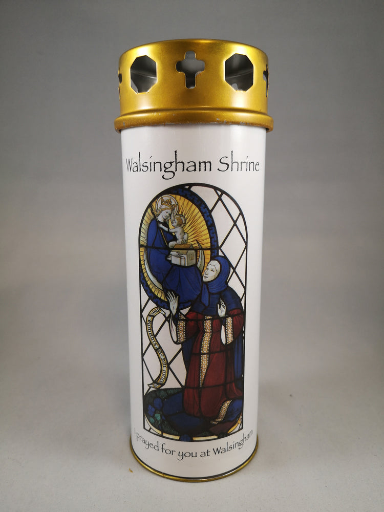 Our Lady of Walsingham Votive Candle | Our Lady of Walsingham | The Shrine Shop