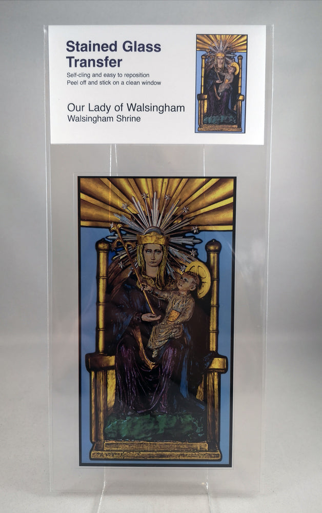 Window Cling – Our Lady Of Walsingham | Our Lady of Walsingham | The Shrine Shop