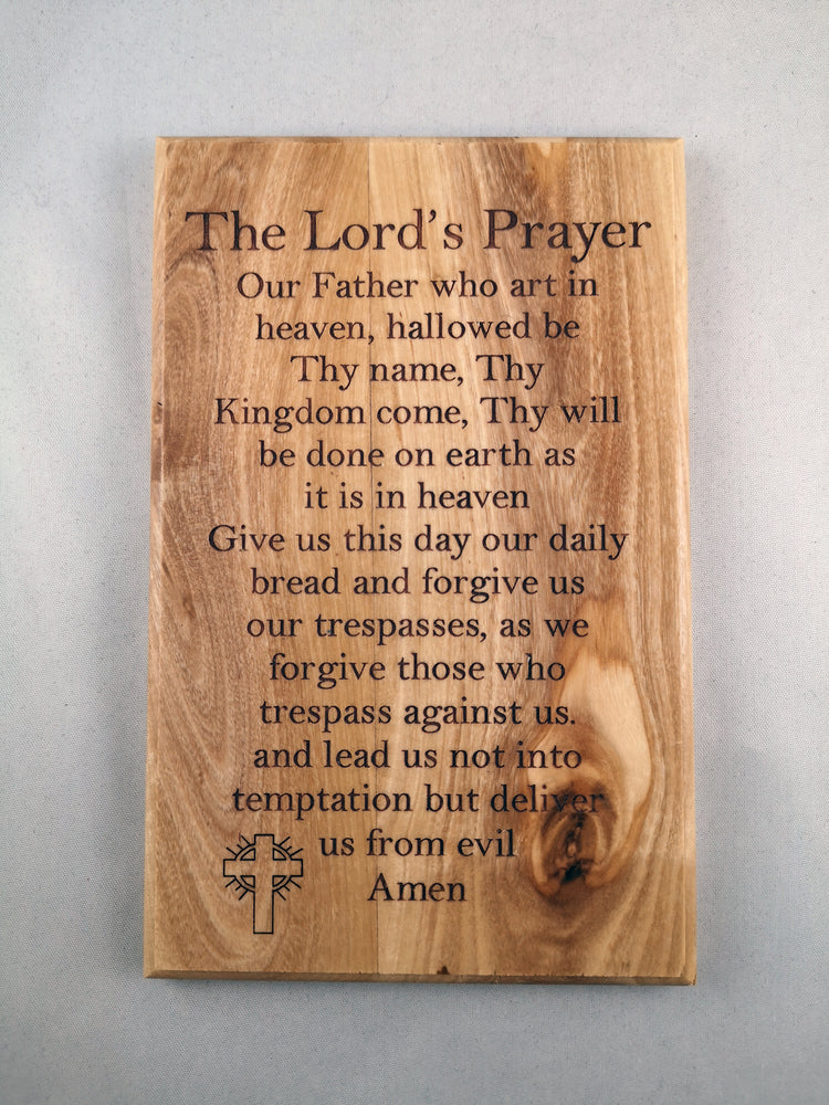Our Father Plaque - The Shrine Shop