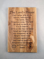 Our Father Plaque