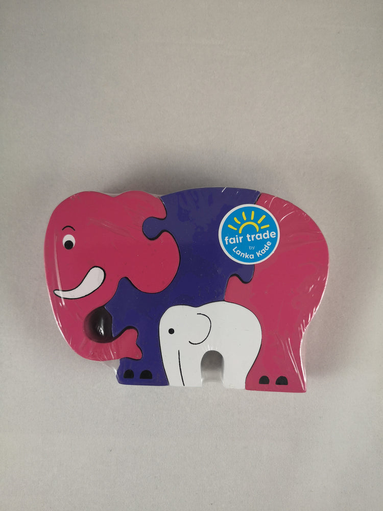 Jigsaw – Elephant and Baby