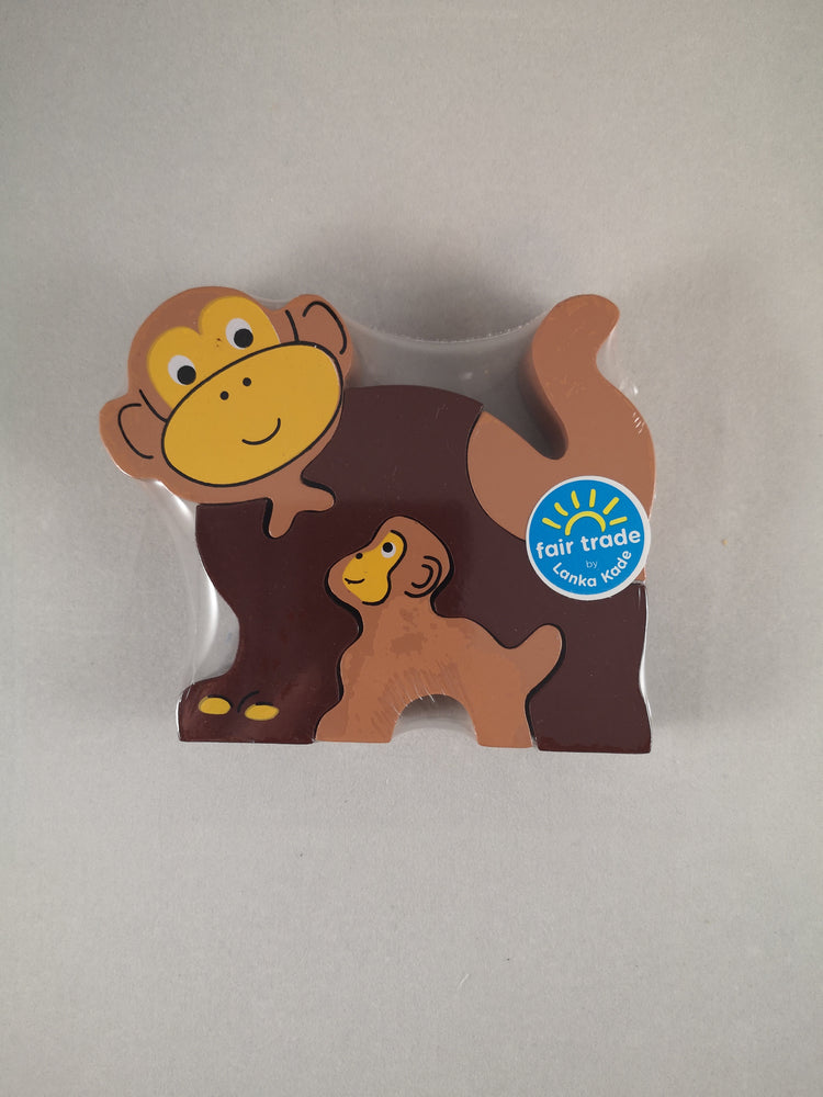 Jigsaw – Monkey and Baby - The Shrine Shop