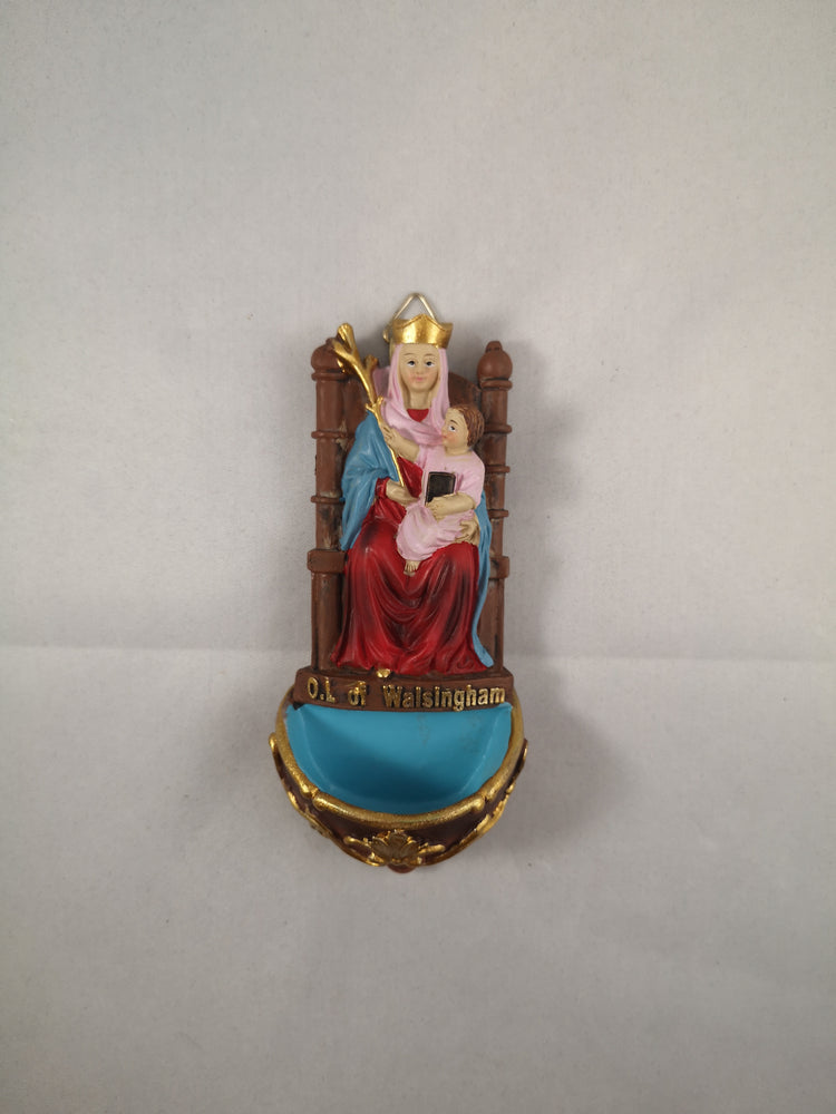 Our Lady of Walsingham Small Font | Our Lady of Walsingham | The Shrine Shop