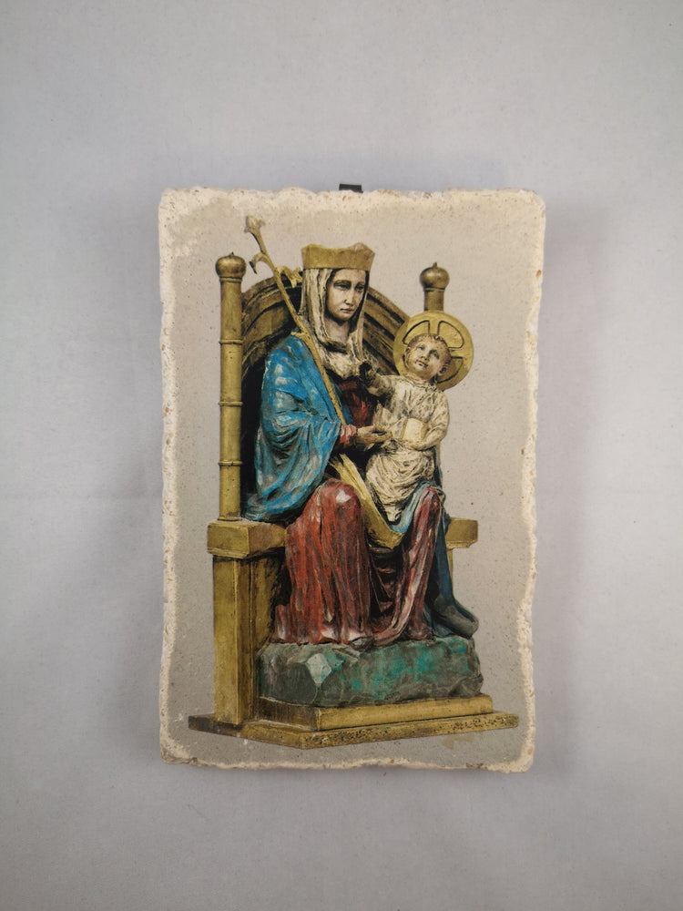 Our Lady of Walsingham Hanging Wall Plaque 15cm | Our Lady of Walsingham | The Shrine Shop