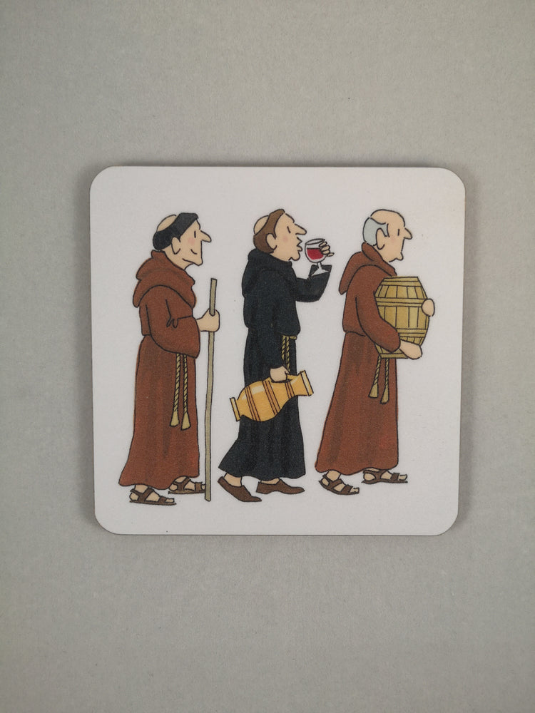 Alison Gardiner Coaster – Monk | Gifts | The Shrine Shop