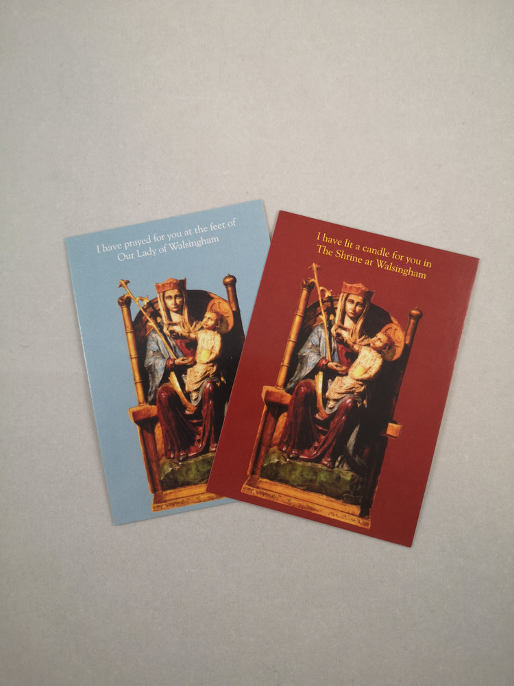 Our Lady of Walsingham Prayer Cards