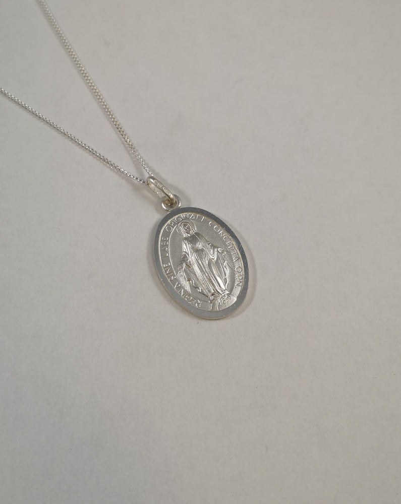 Sterling Silver Miraculous Necklace | Jewellery & Medals | The Shrine Shop