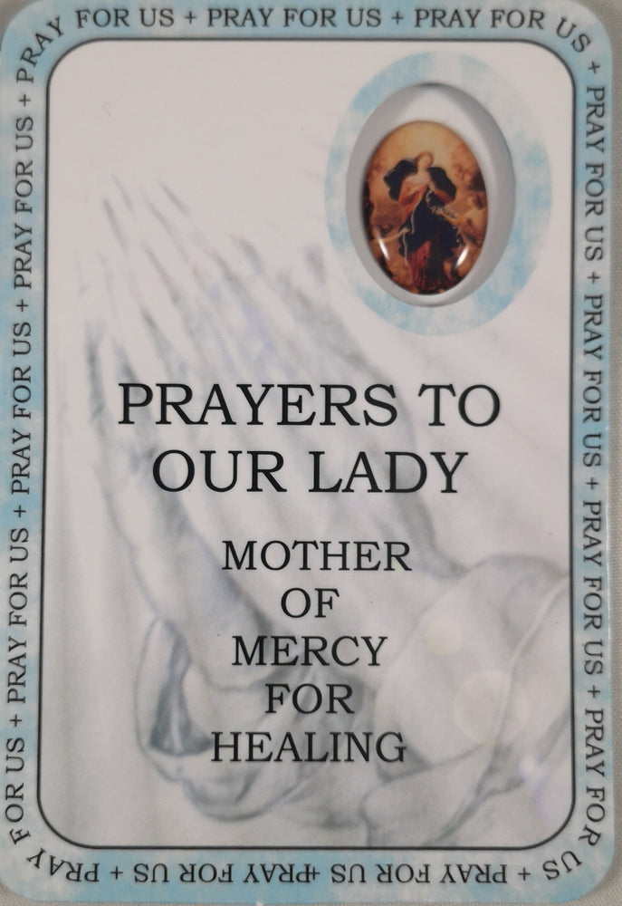 Prayers to Our Lady Prayer Card | Rosaries & Prayer Cards | The Shrine Shop