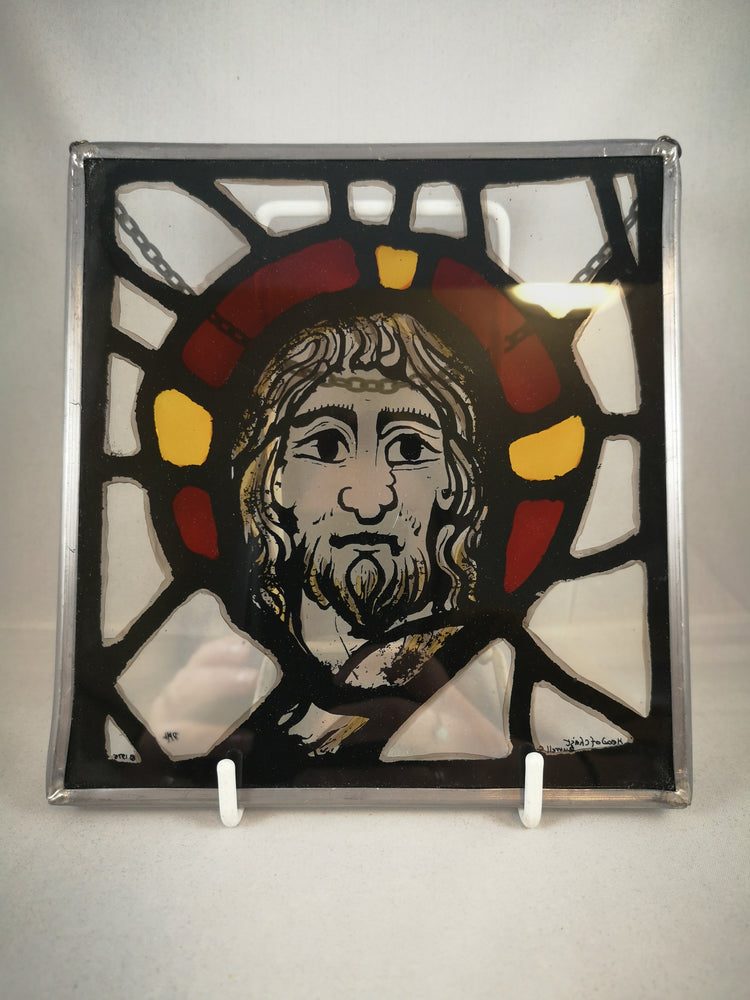 Stained Glass – Head of Christ | Statues & Icons | The Shrine Shop