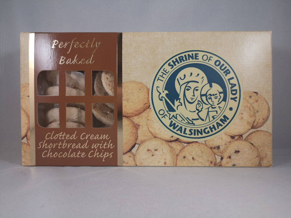 Clotted Cream Shortbread with Chocolate Chips | Our Lady of Walsingham | The Shrine Shop