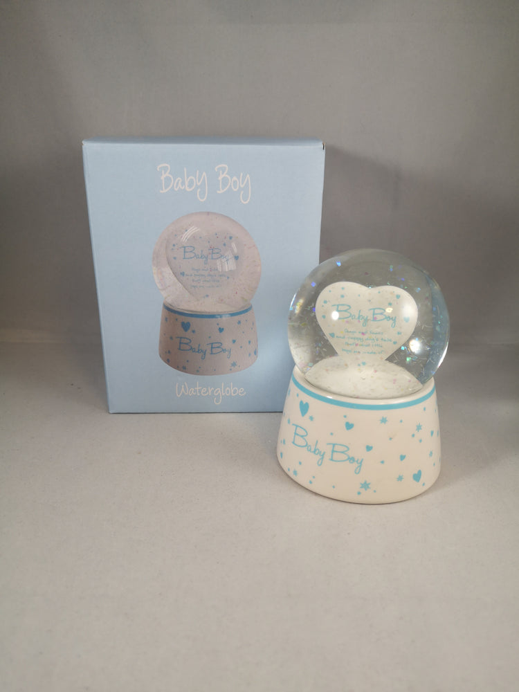 Water Globe – Baby Boy | Childrens & Youth | The Shrine Shop