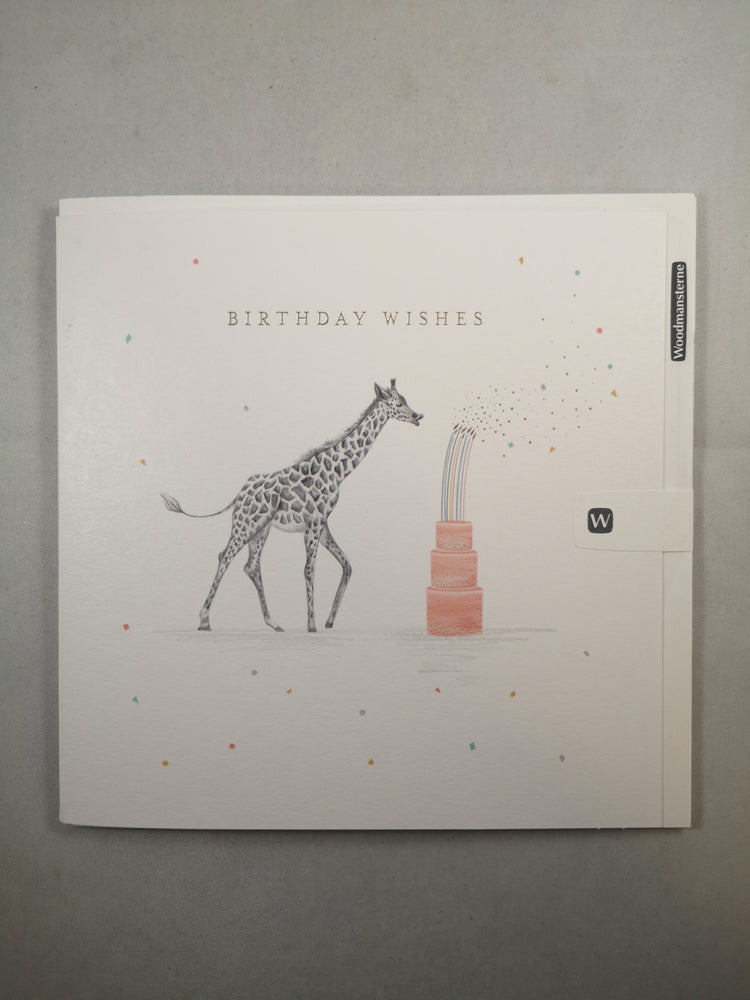 Card – Birthday Wishes
