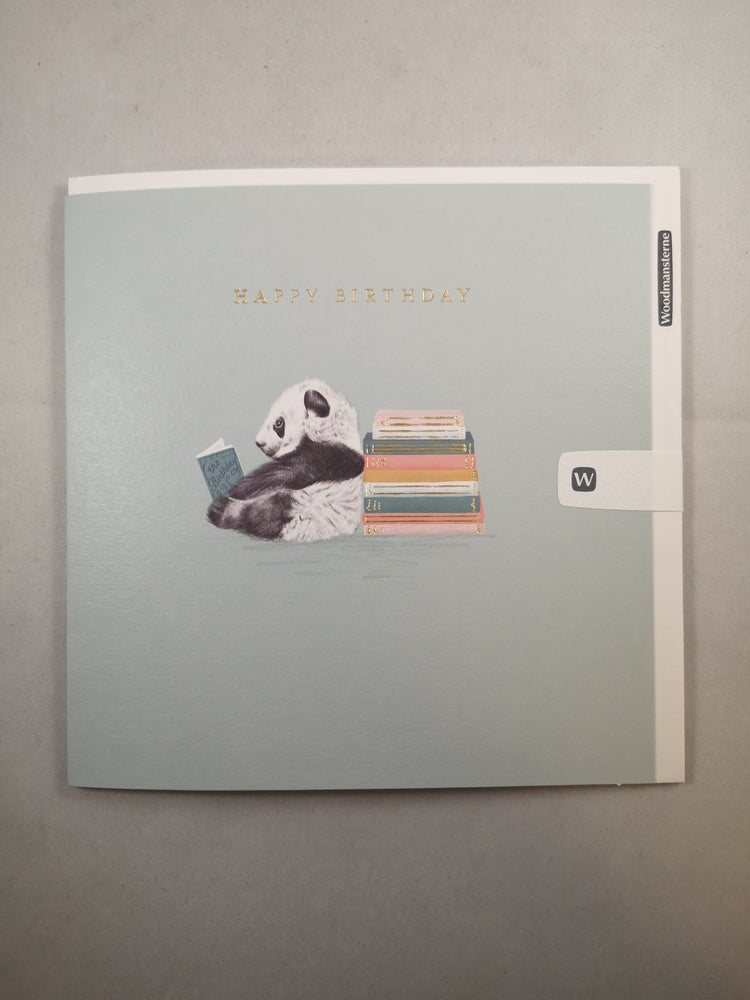 Card – Happy Birthday Panda