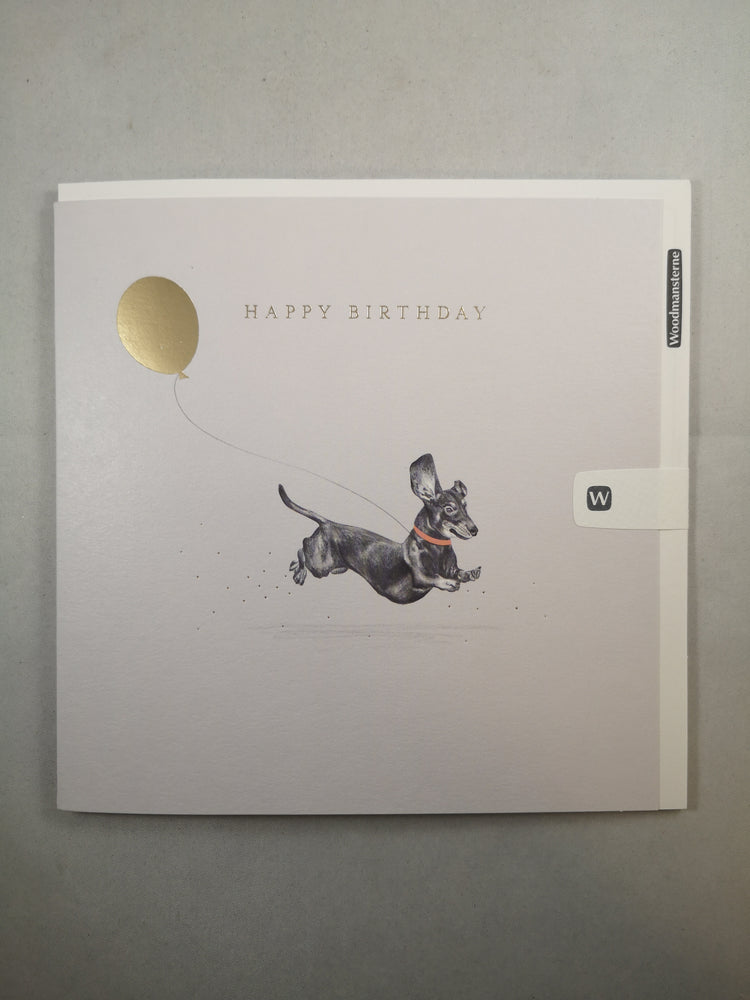 Card – Happy Birthday Dachshund