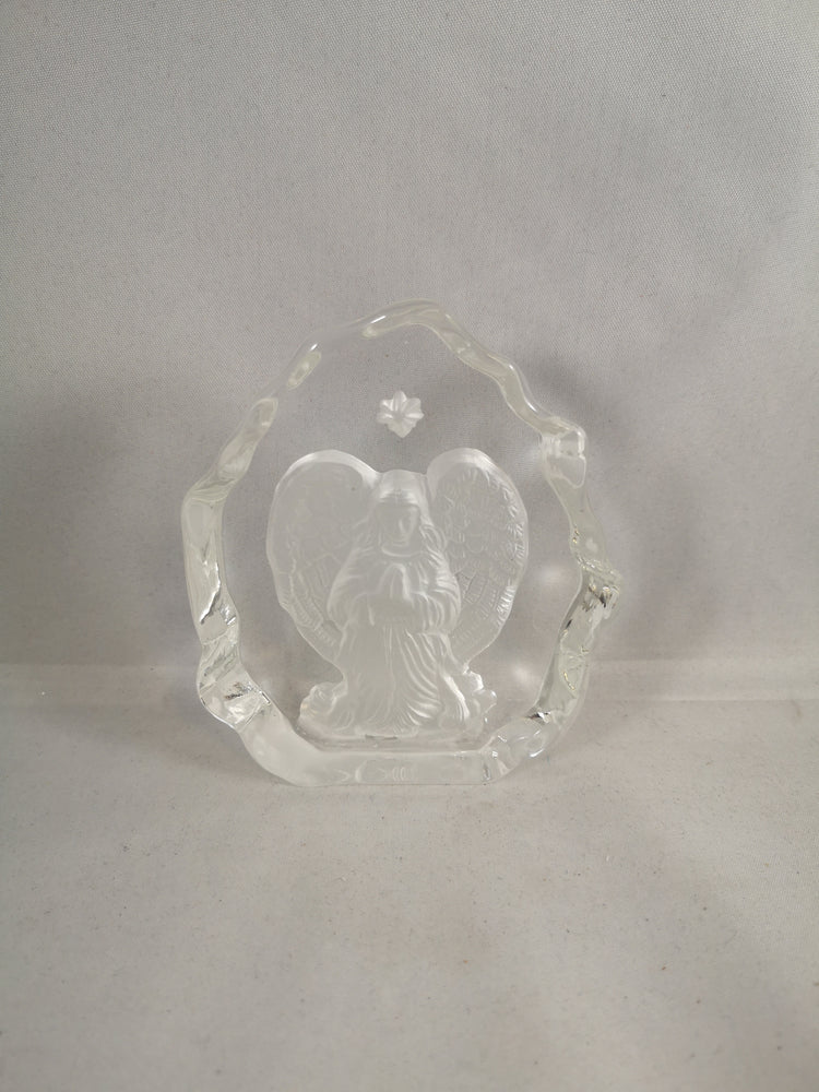 Crystal Guardian Angel Plaque