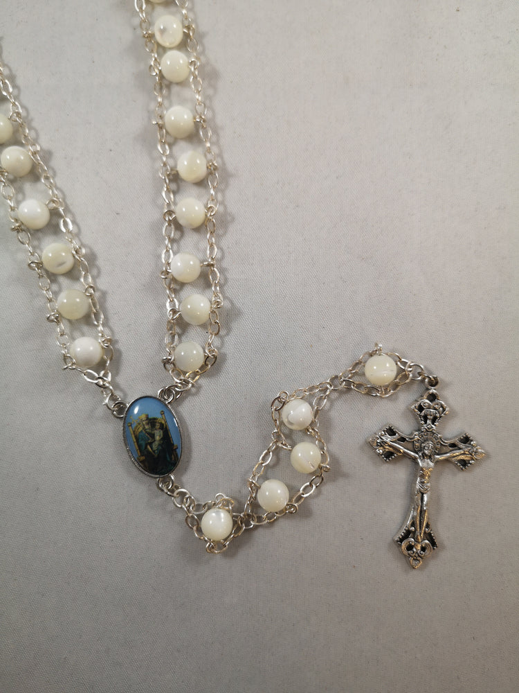 Mother of Pearl Ladder Rosary