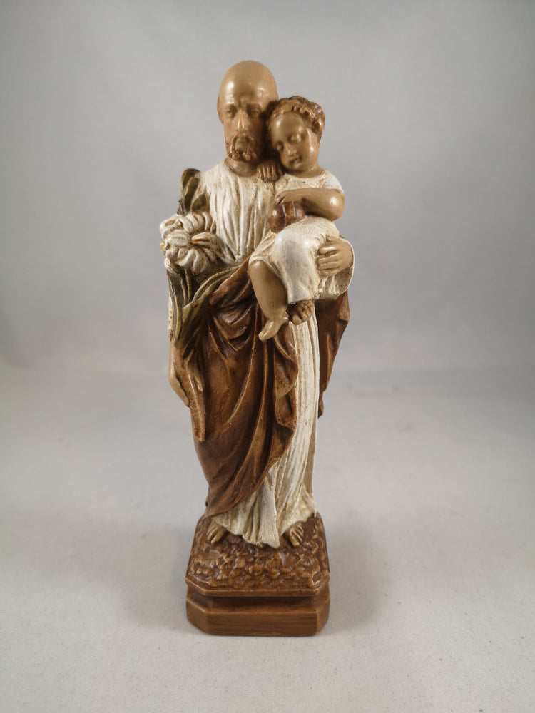 Saint Joseph with Child Statue | Atelier d'art de Bethléem | The Shrine Shop