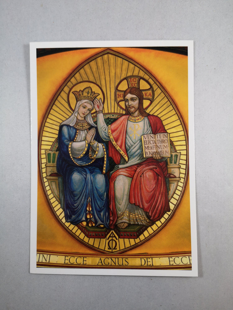 Postcard – The Coronation of Our Lady | Greetings Cards & Stationery | The Shrine Shop