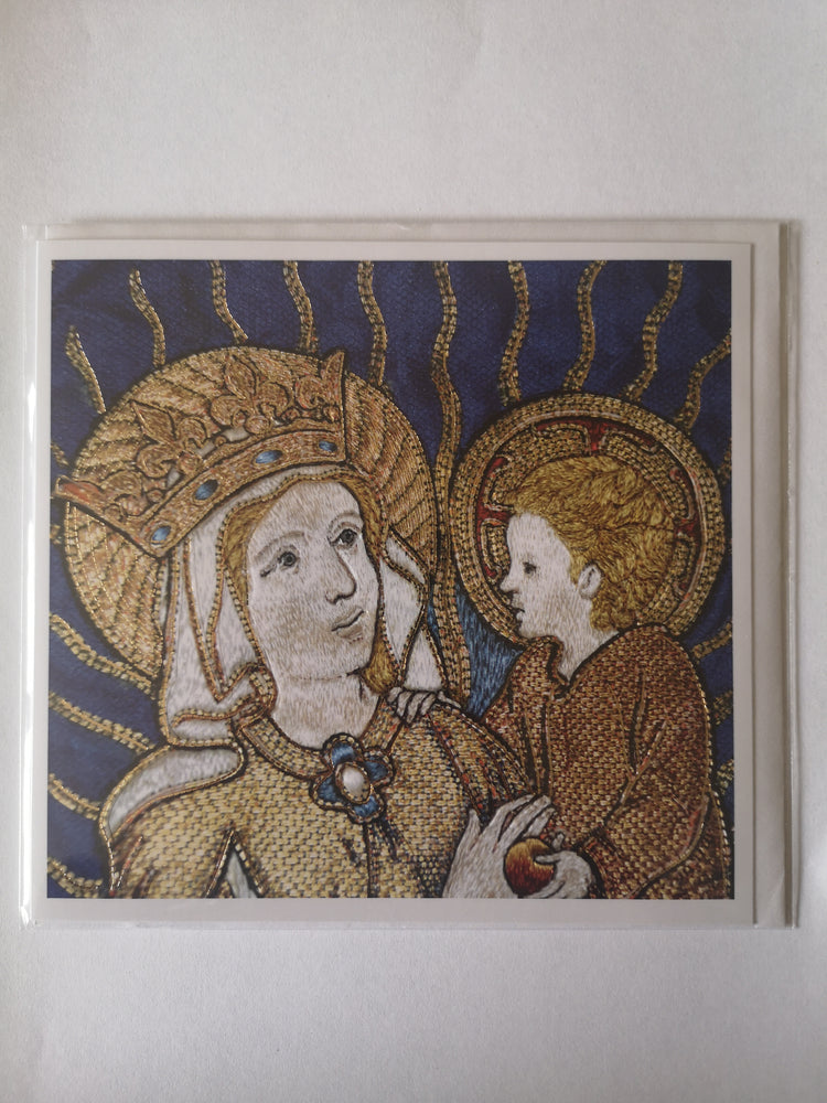 Card – Madonna and Child | Greetings Cards & Stationery | The Shrine Shop