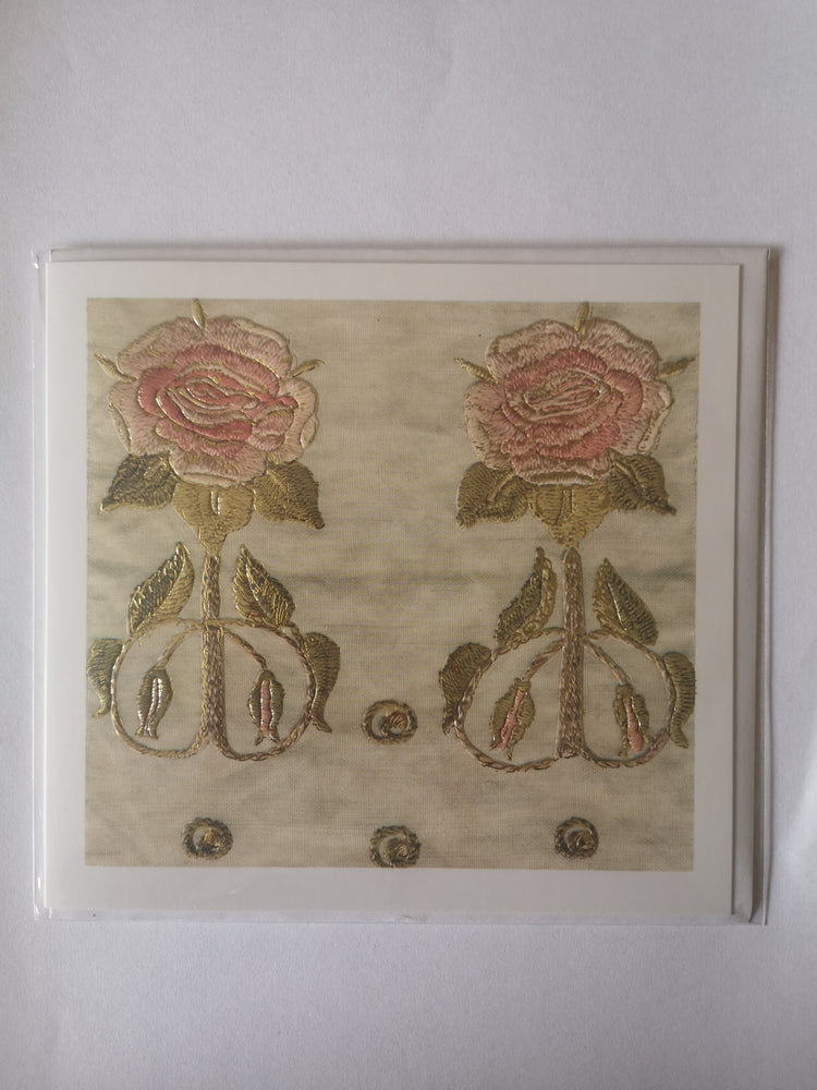 Card – Rose Embroidery