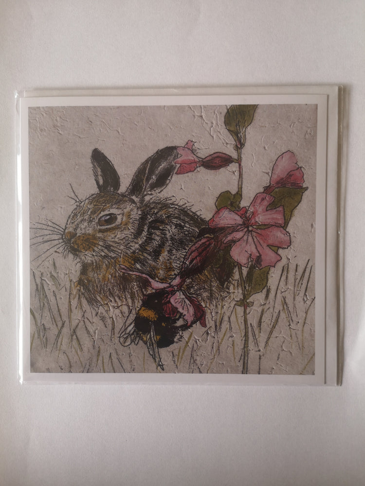 Card – Leveret and Bee