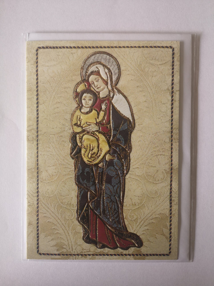 Card – Liverpool Cathedral Madonna and Child