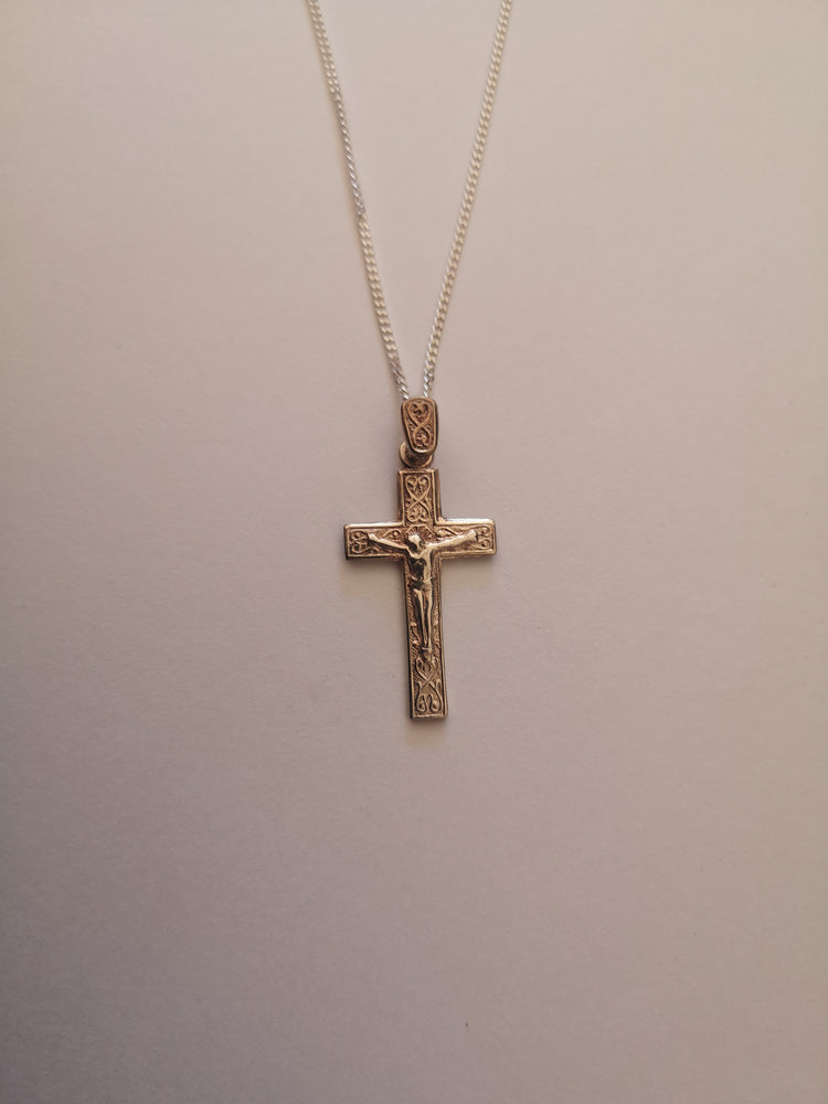 Sterling Silver Crucifix Necklace