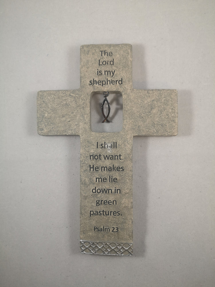 The Lord is My Shepherd Cross | Crosses & Crucifixes | The Shrine Shop