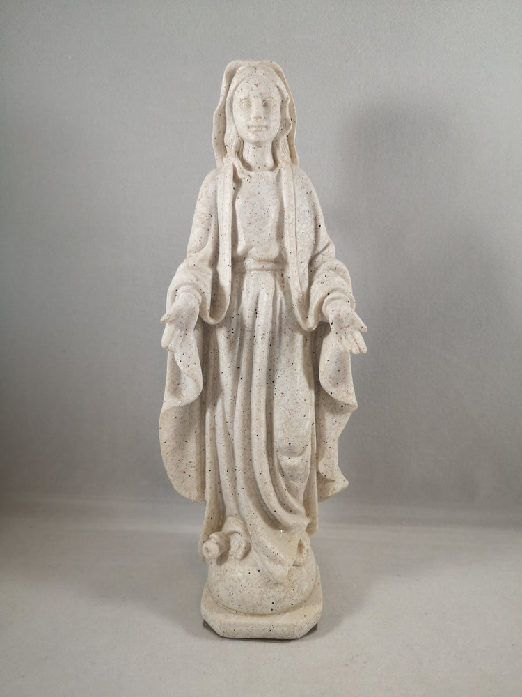 Stone Effect Mary Statue