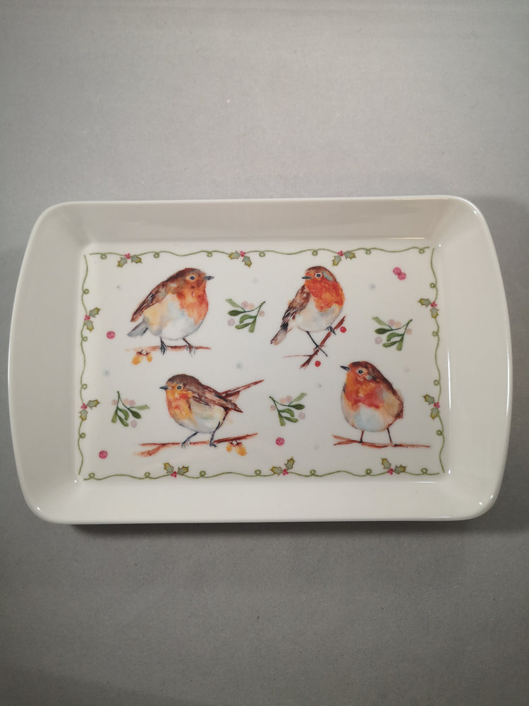 Winter Robin Tray | Seasonal | The Shrine Shop