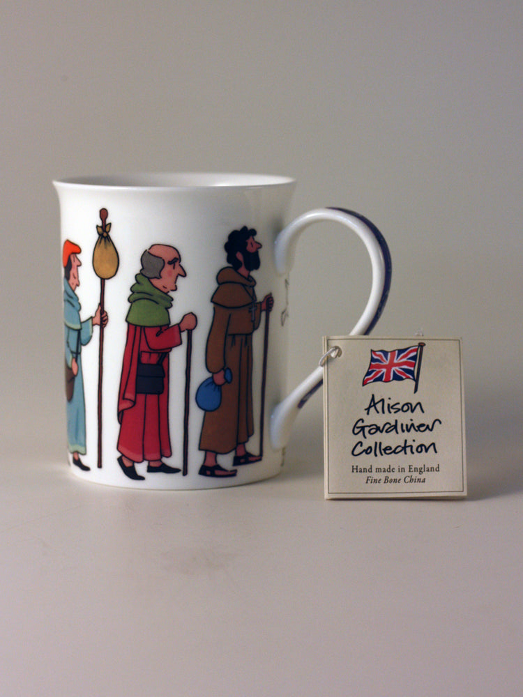 Alison Gardiner Fine Bone China Mug – Pilgrim's Way