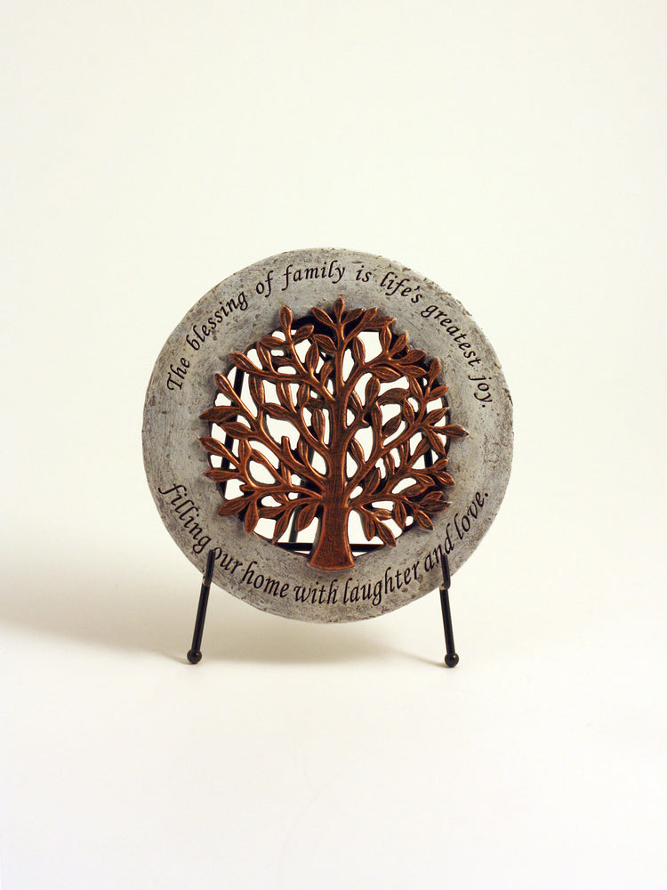 Tree of Life Plaque with Stand