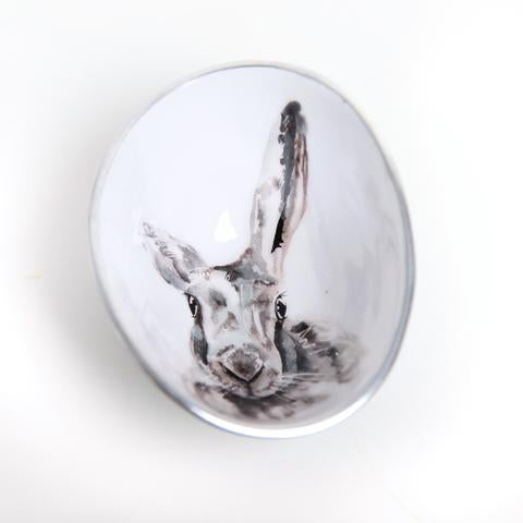 Large Oval Hare Bowl