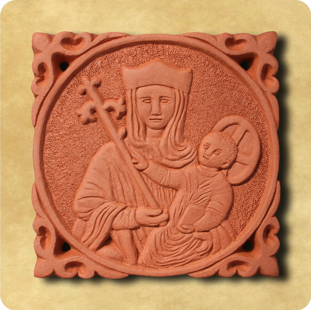 Terracotta Wall Tile – Our Lady of Walsingham