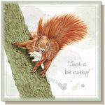 Card – Just A Bit Nutty | Gifts | The Shrine Shop