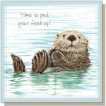 Card – Time To Put Your Feet Up
