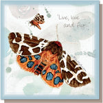 Card – Live, Love and Fly