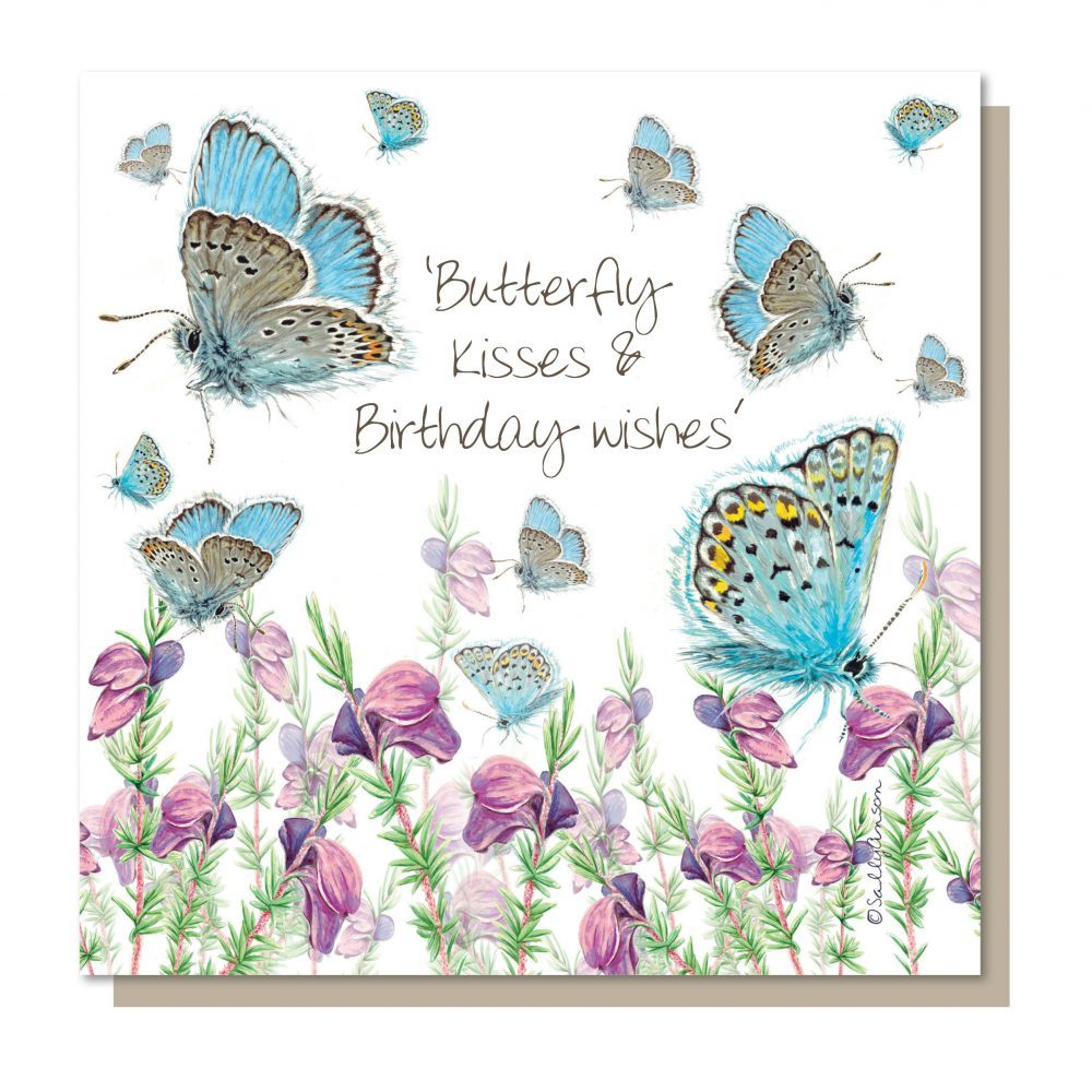 Card – Butterfly Kisses & Birthday Wishes | Gifts | The Shrine Shop