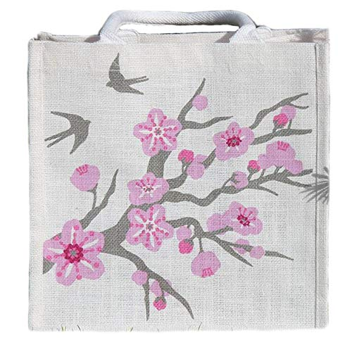 Cherry Blossom Jute Bag |  | The Shrine Shop