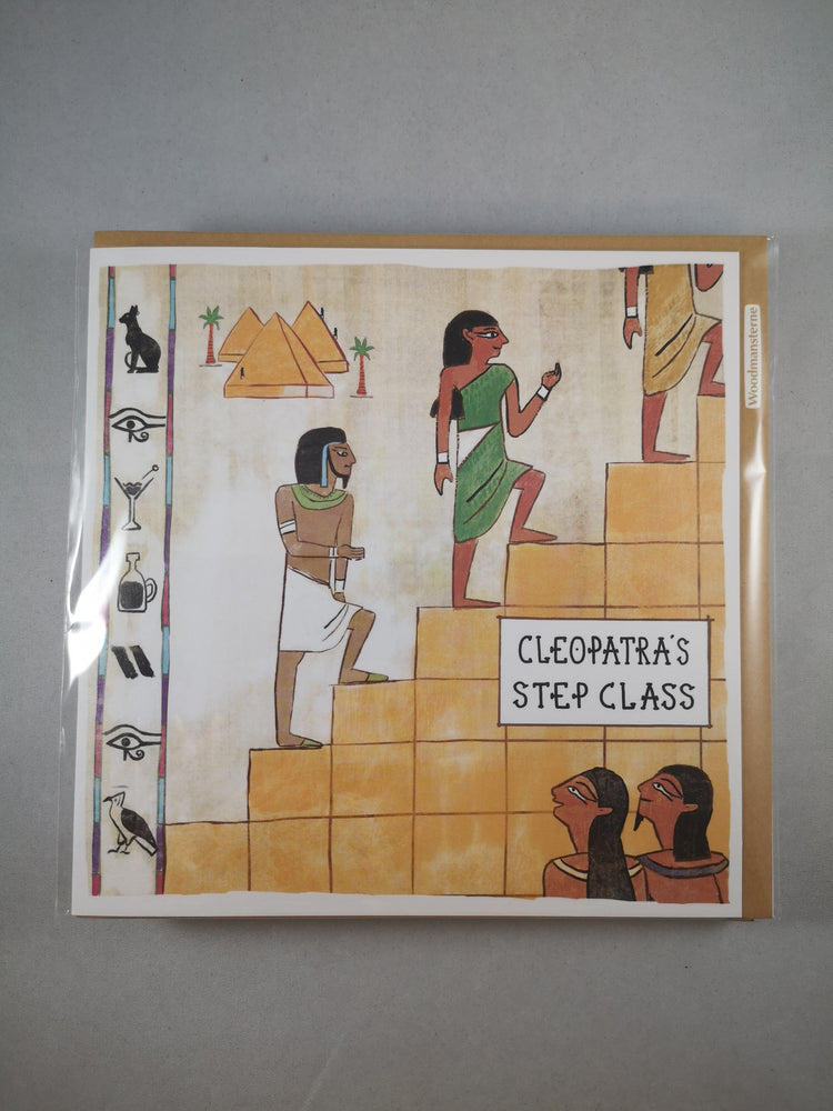 In De Nile – Cleopatra's Step Class | Greetings Cards & Stationery | The Shrine Shop