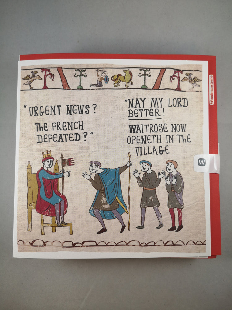 Hysterical Heritage Card – Urgent News