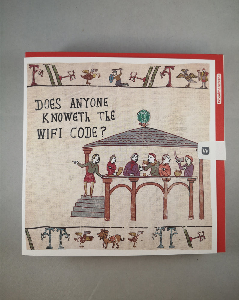 Hysterical Heritage Card – WiFi Code